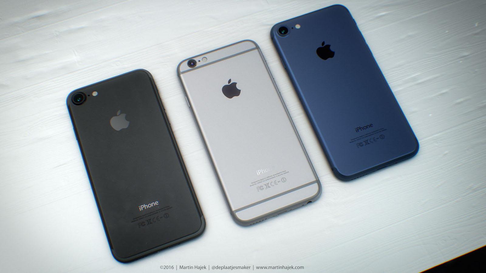 iPhone 7 デザイン 予想