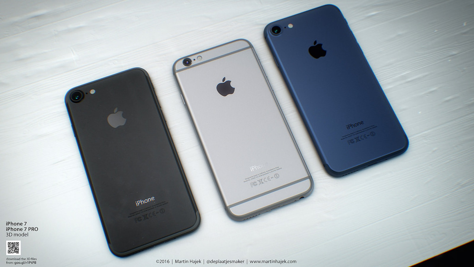 iPhone 7 背面 リーク画像