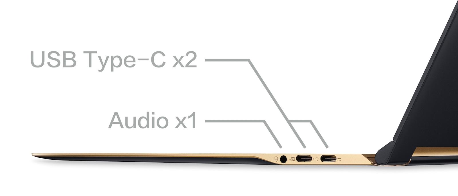 Acer Swift 7 拡張端子