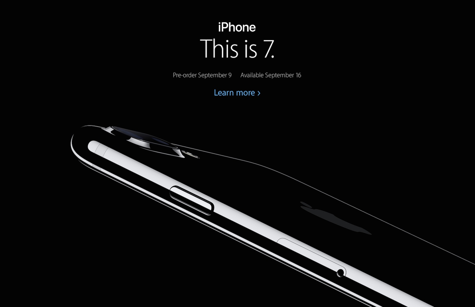 iPhone 7、7 Plus発表
