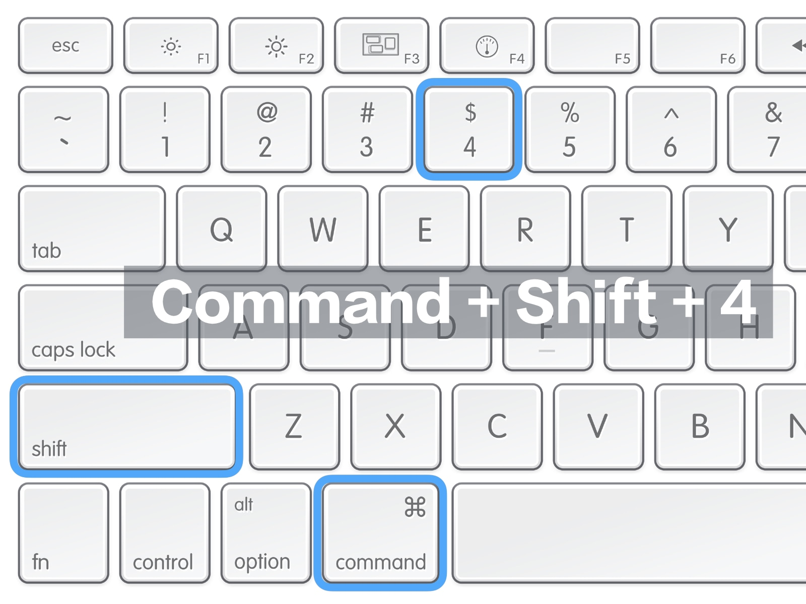 Mac スクリーンショット 範囲選択キャプチャー