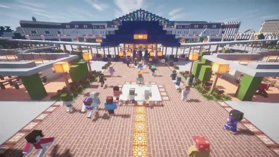 Minecraftで東京ディズニーランドを再現プロジェクト-01