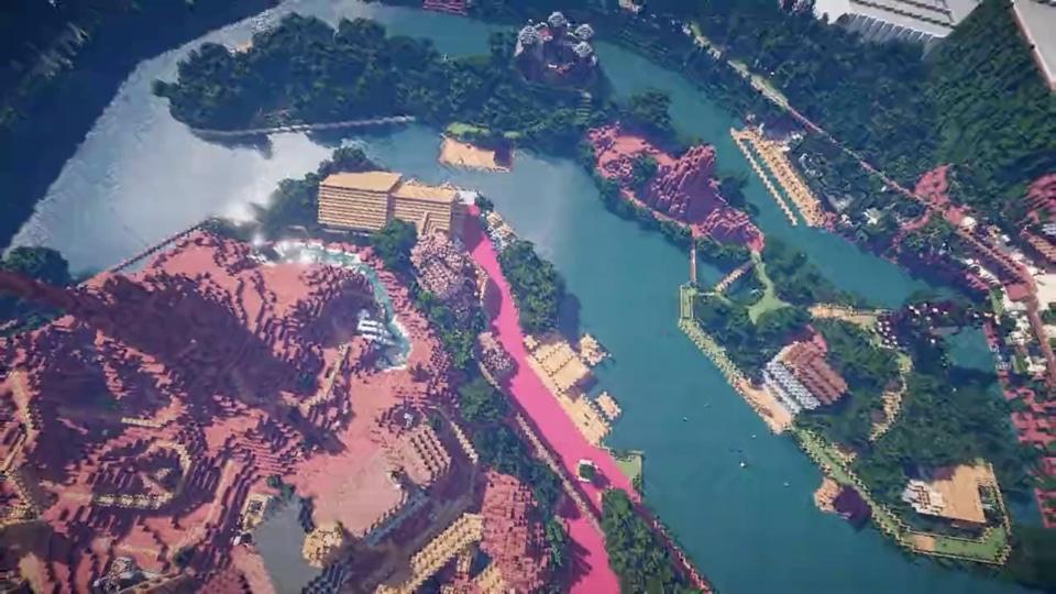 Minecraftで東京ディズニーランドを再現プロジェクト-05