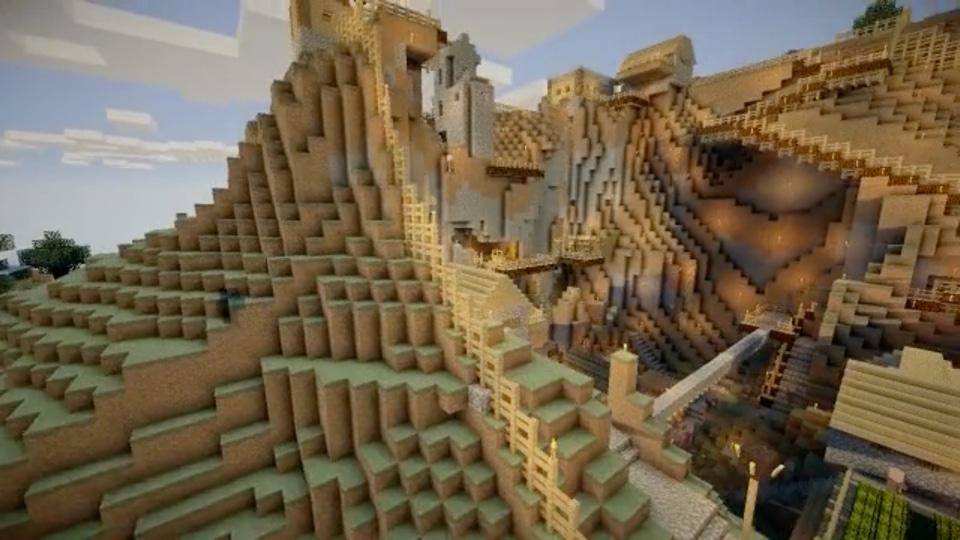 「断崖絶壁の村を城塞都市にする」シリーズ-01