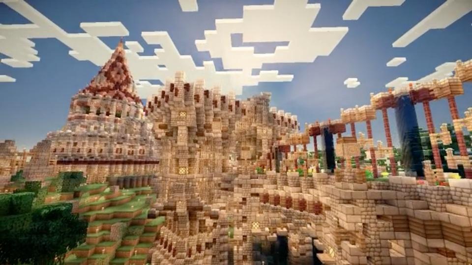 「断崖絶壁の村を城塞都市にする」シリーズ-02