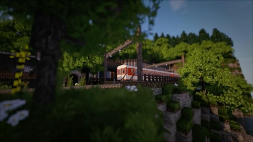 「繋げて遊ぼう!鉄道MODでジオラマクラフト」シリーズ-01