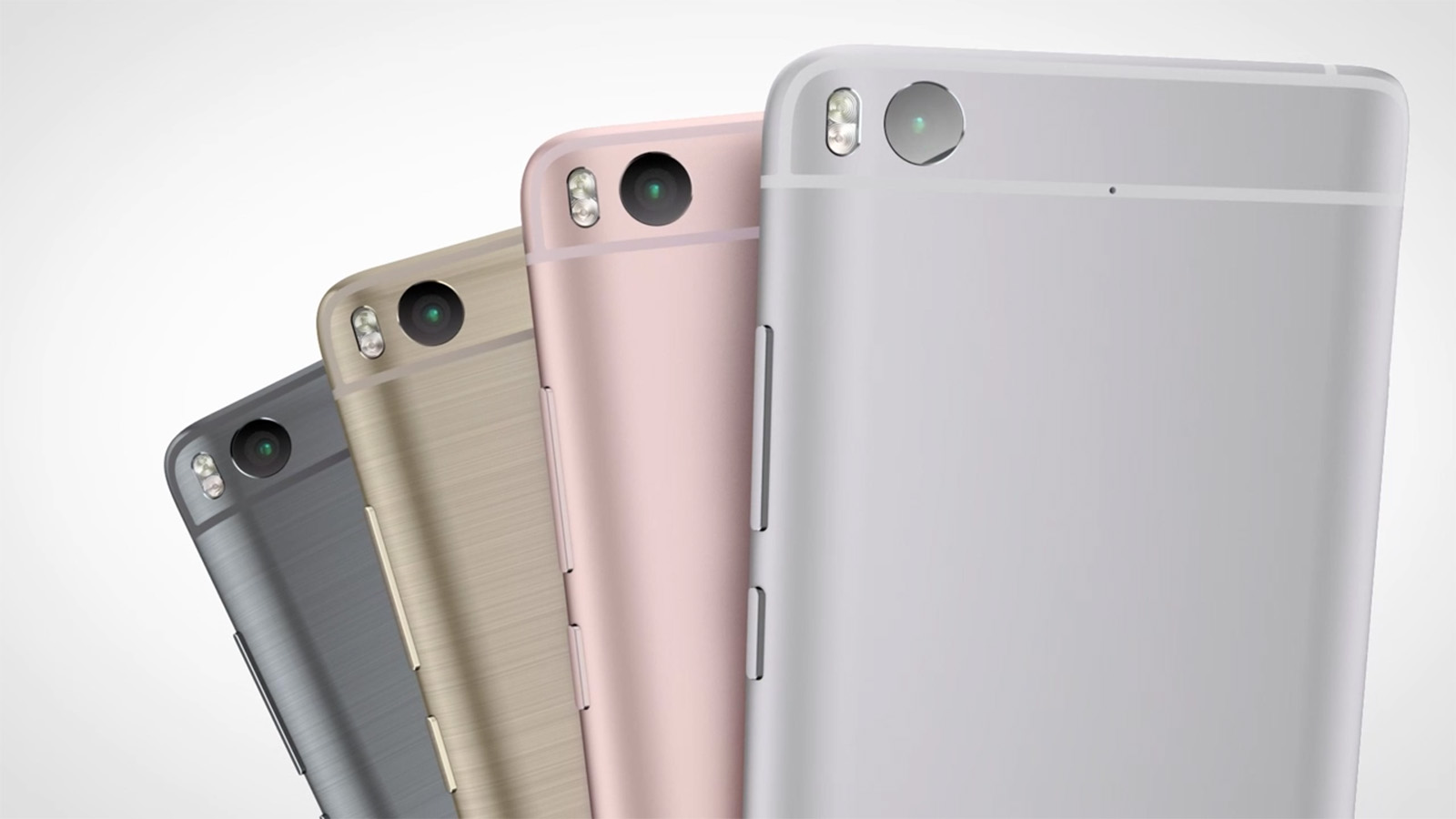 Xiaomi Mi5s 背面