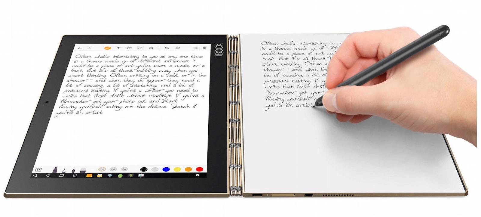 YogaBook リアルペン
