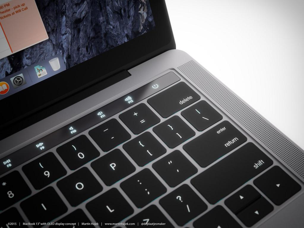 2016年 新型MacBook Pro Dynamic Function Row