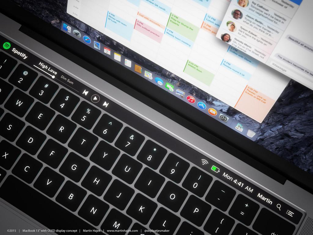 2016年 MacBook Pro コンセプトイメージ