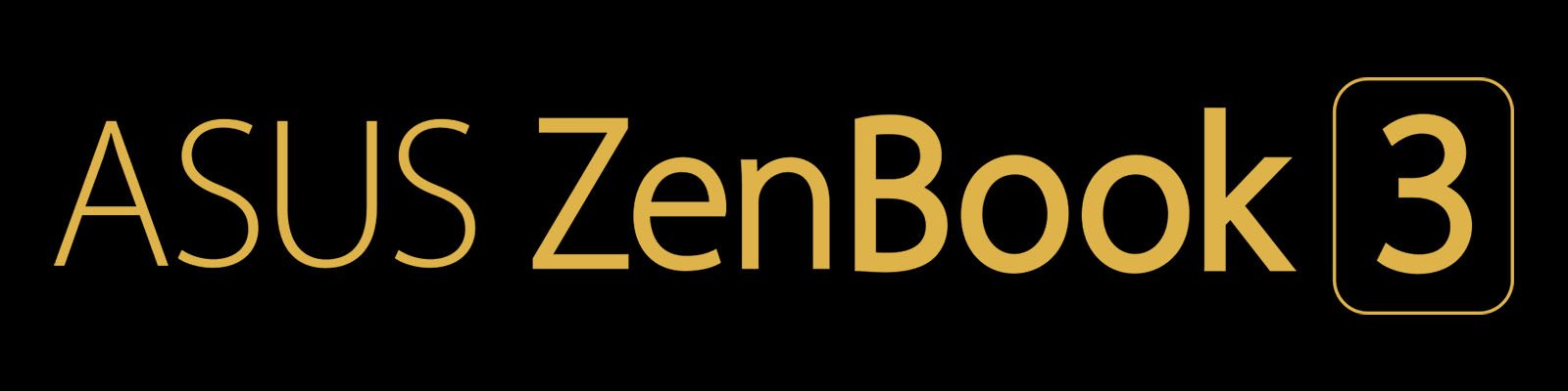 ASUS ZenBook 3 ロゴ