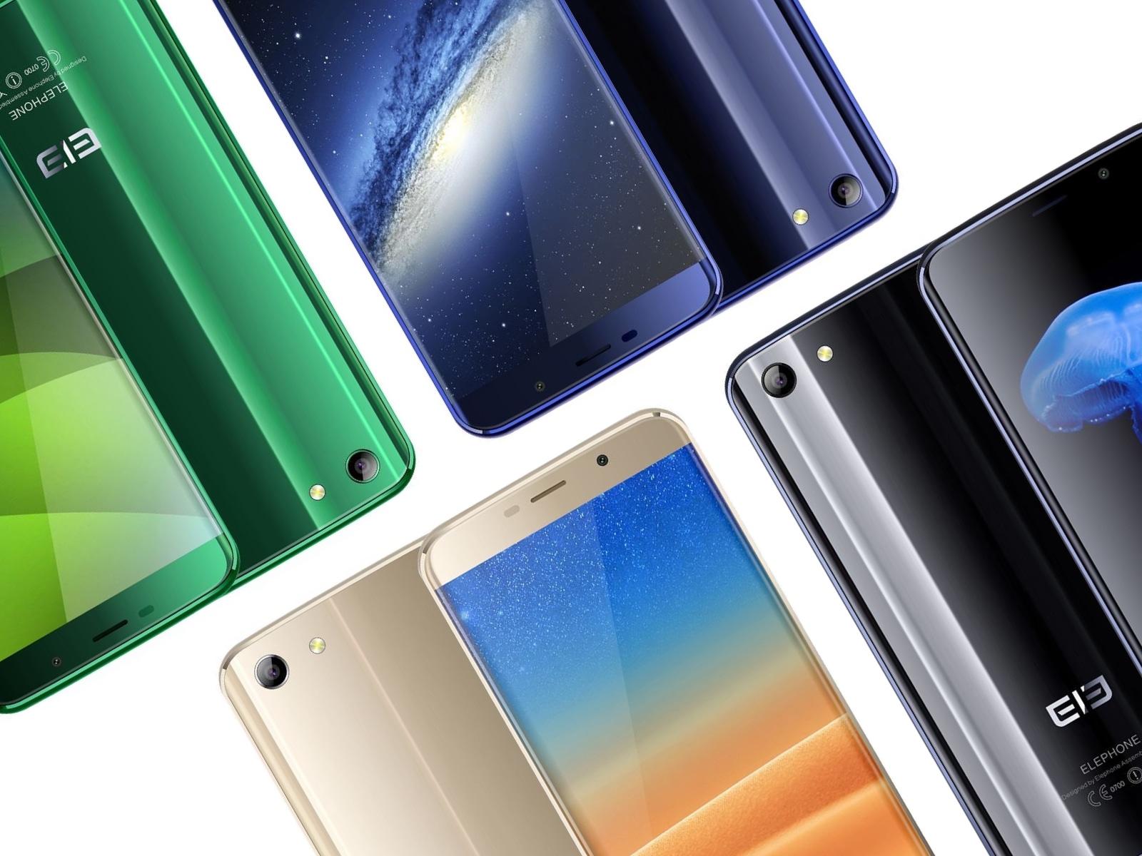 Elephone S7 カラーバリエーション