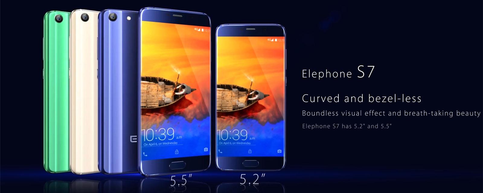 Elephone S7とElephone S7 mini