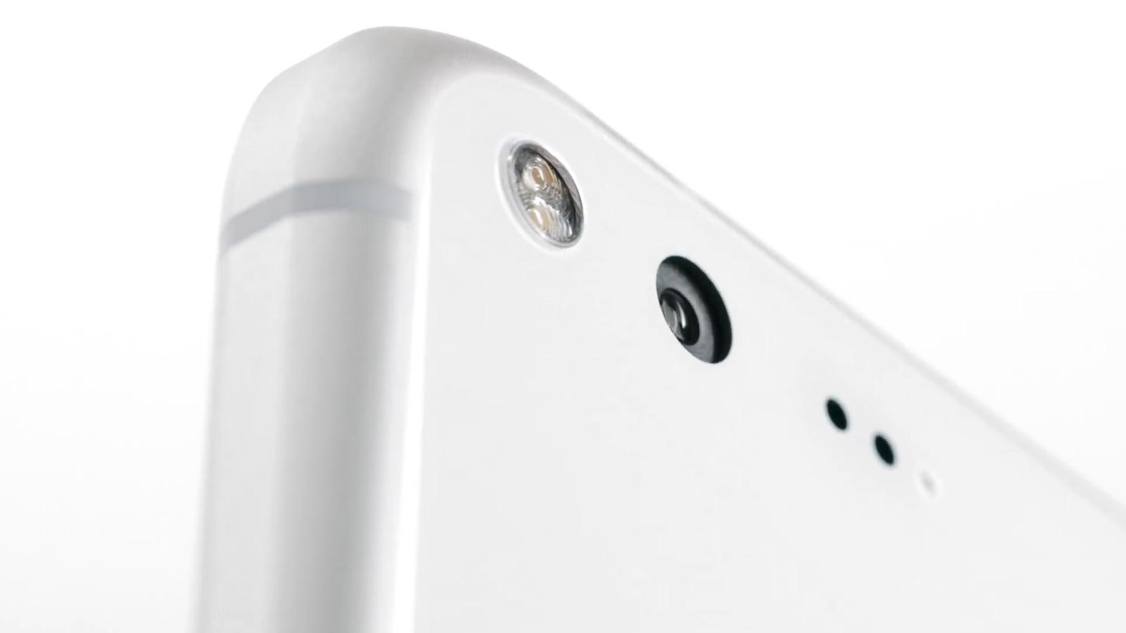 Google Pixel、Pixel XL 背面カメラ