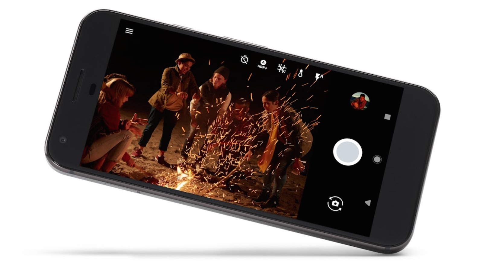 Google Pixel、Pixel XL カメラ