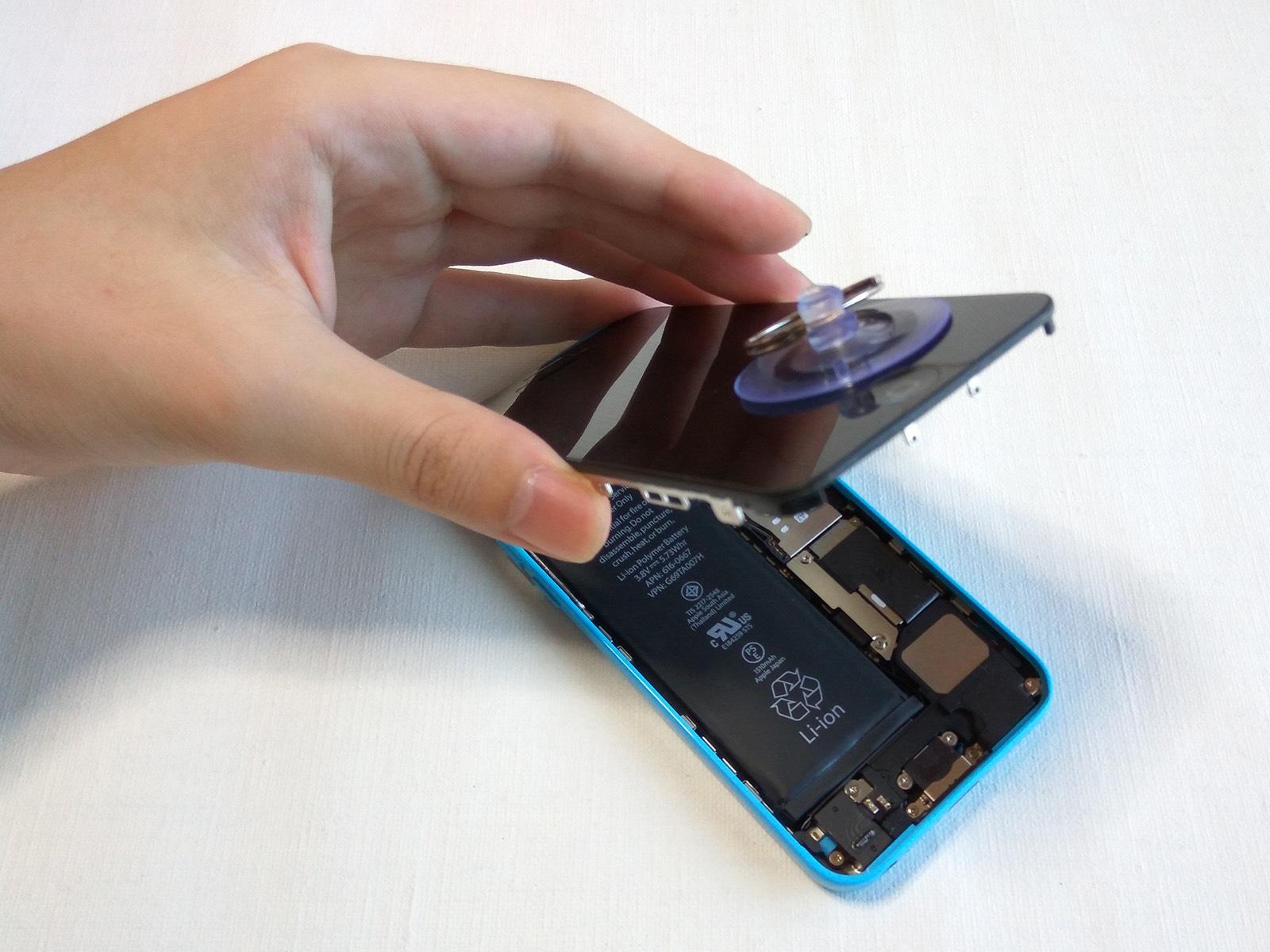 iPhone 5c バッテリー交換 開封