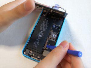 iPhone 5c バッテリー交換修理