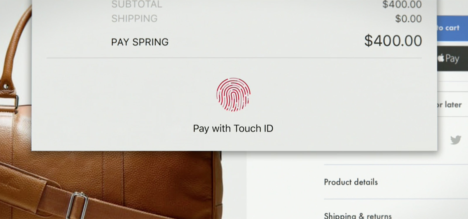2016年 MacBook Pro Touch ID 指紋認証 Apple Pay