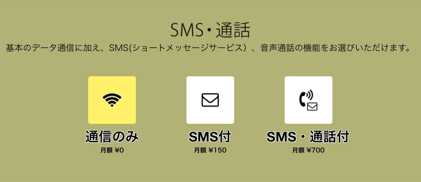 nuroモバイル オプション
