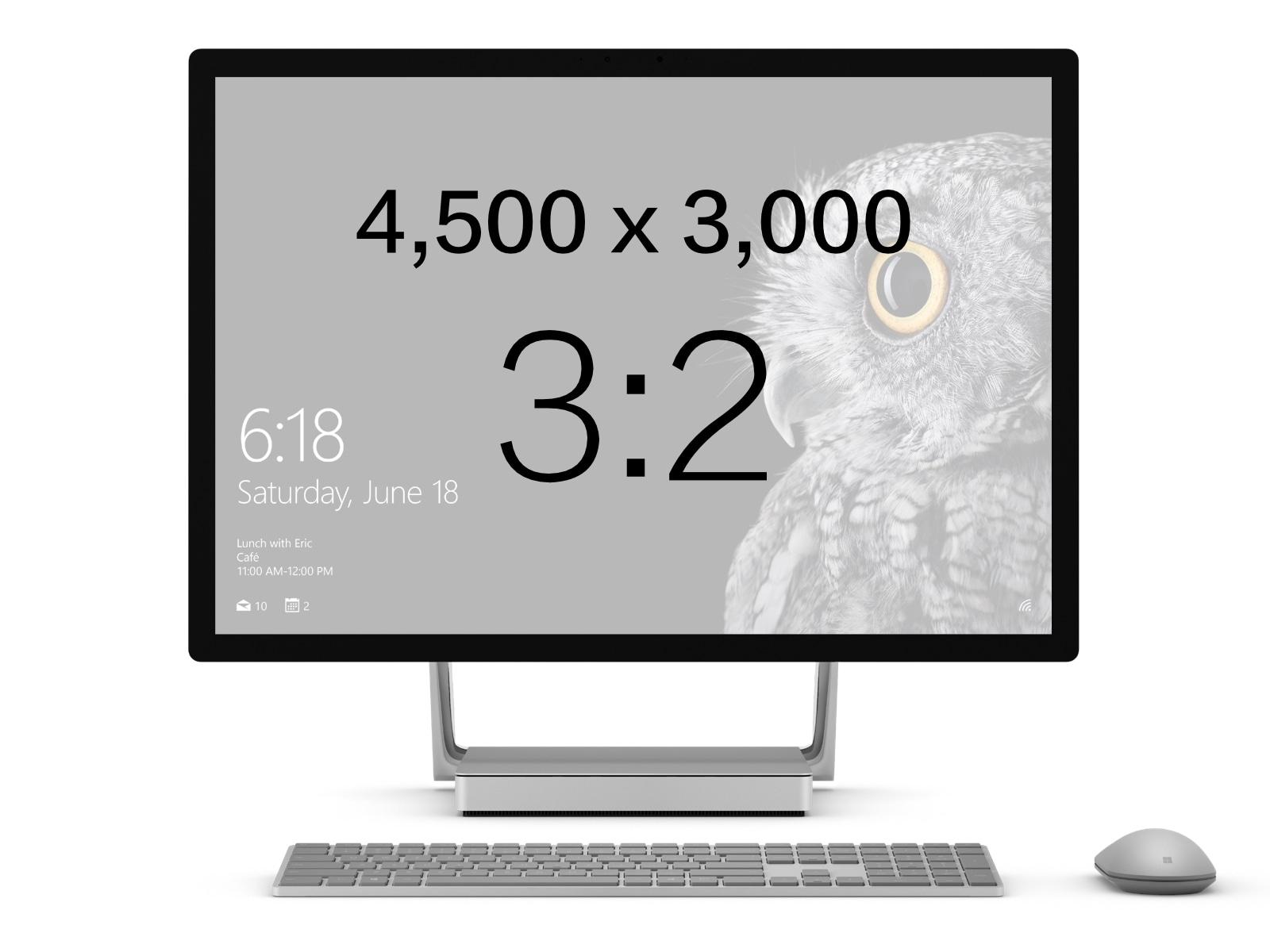 Surface Studio アスペクト比