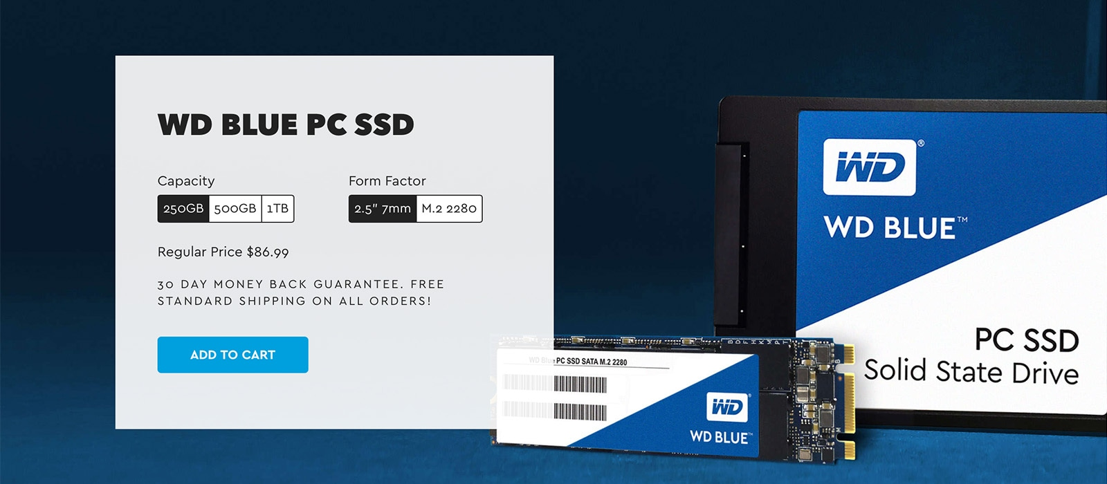 Western Digital WD Blue PC SSD