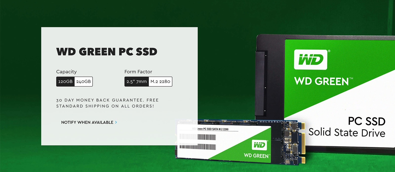 Western Digital WD Green PC SSD