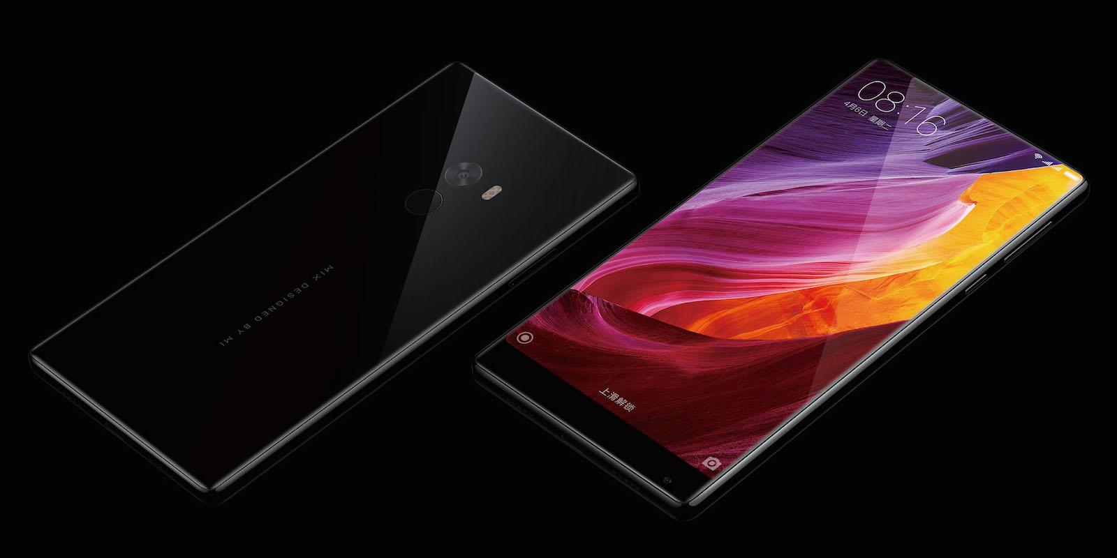 Xiaomi Mi MIX ボディ