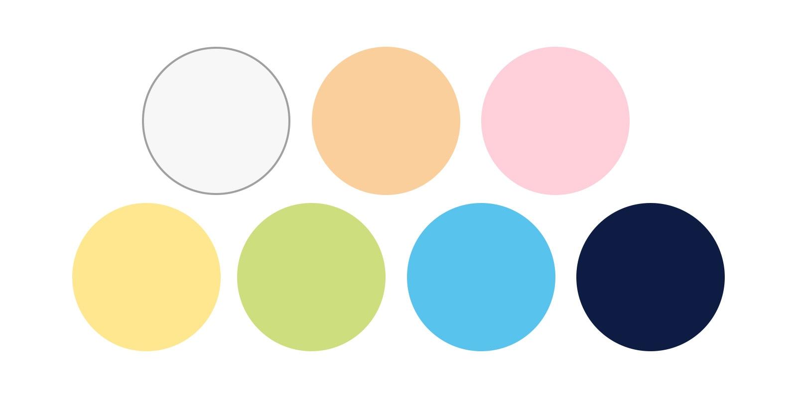 Bluboo Picasso 4G カラーバリエーション