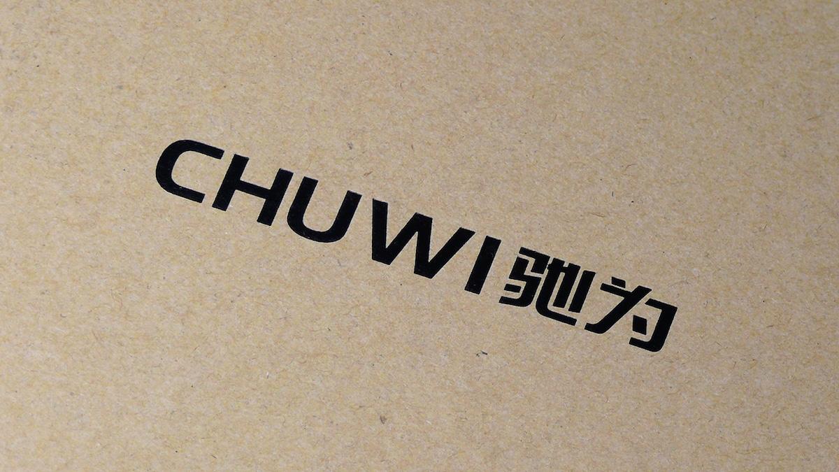 CHUWI Hi10 Plus 箱のロゴ