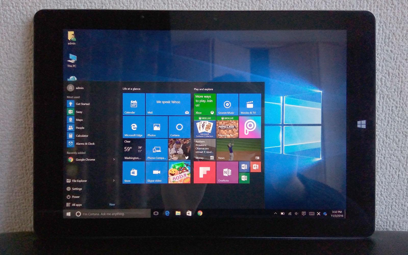 Chuwi Hi10 Plus Windows 10