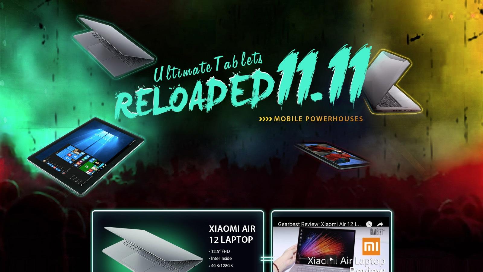 11.11 Sales Storm Reloaded Ultimate Tablets