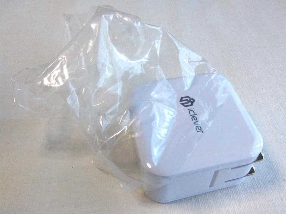 iClever USB充電器 開封 本体