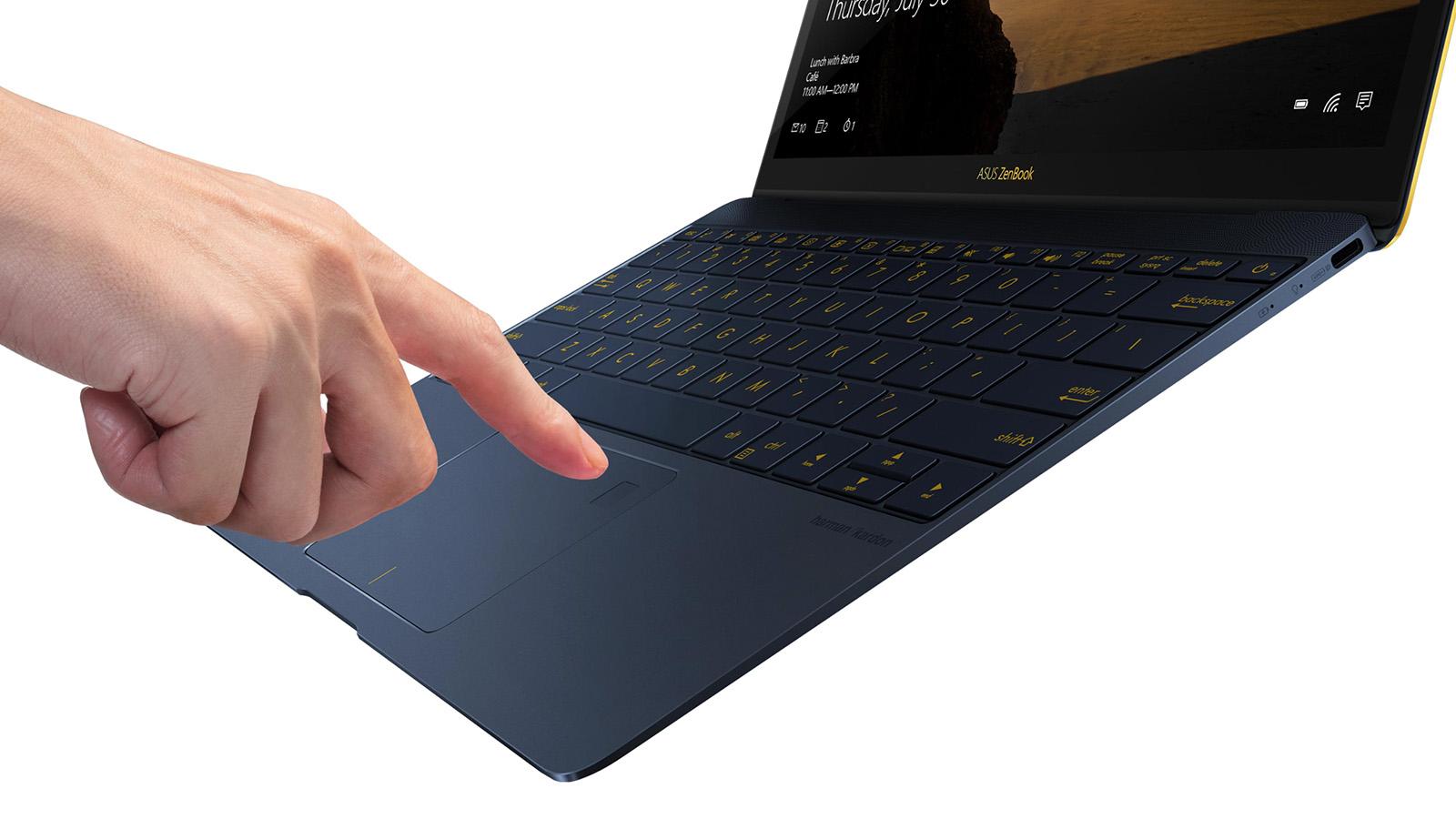 ZenBook 3 指紋認証センサー