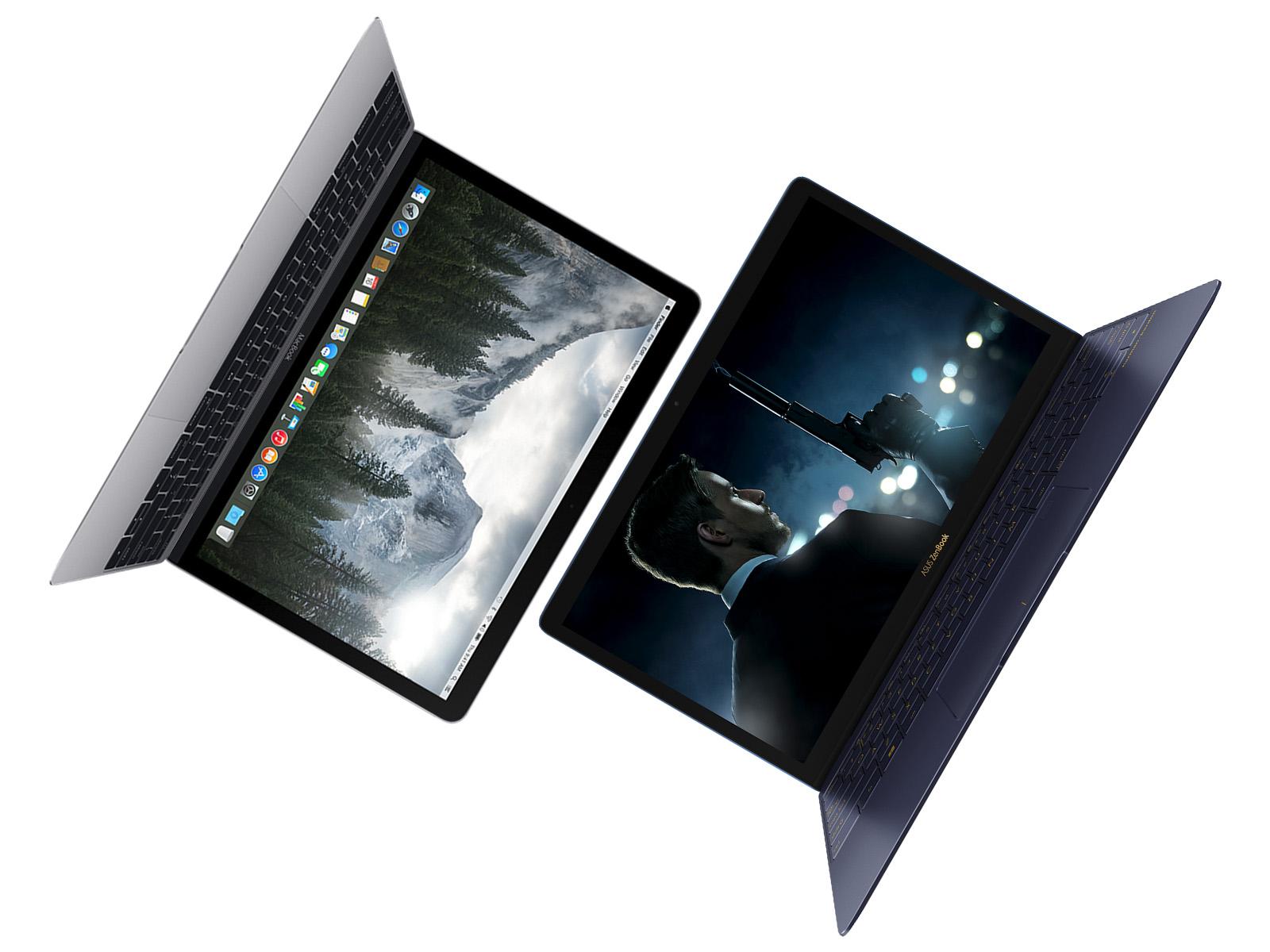 MacBook vs ZenBook 3