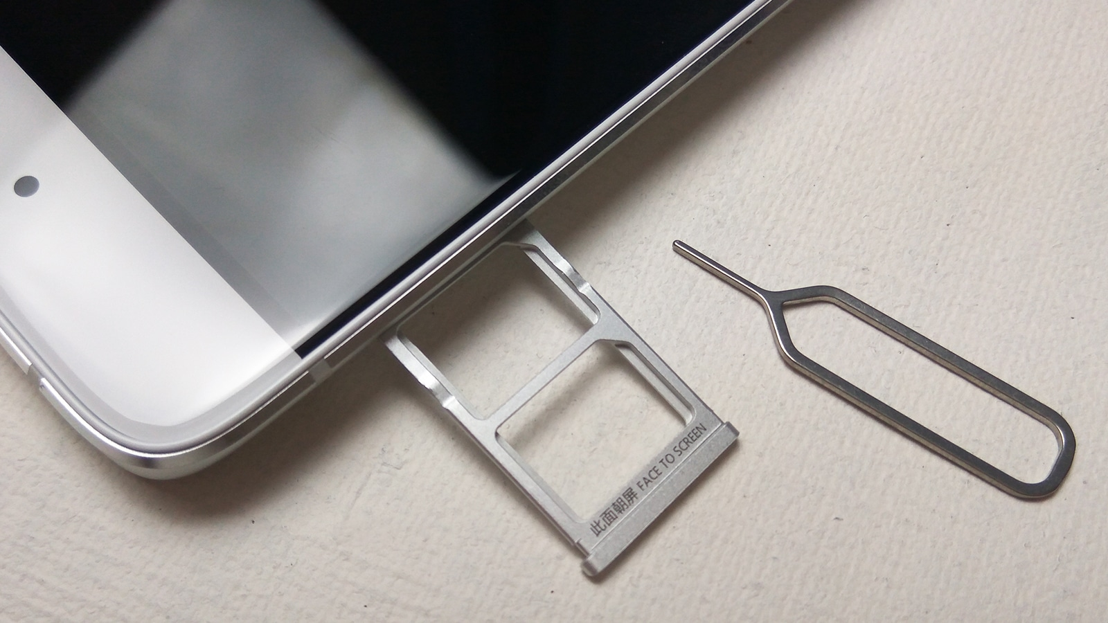 Xiaomi Mi5s Nano-SIMスロット