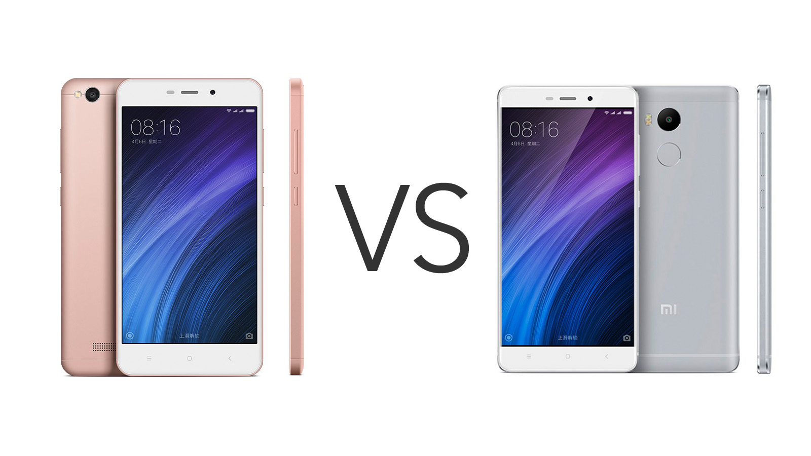Xiaomi Redmi 4 vs 4A