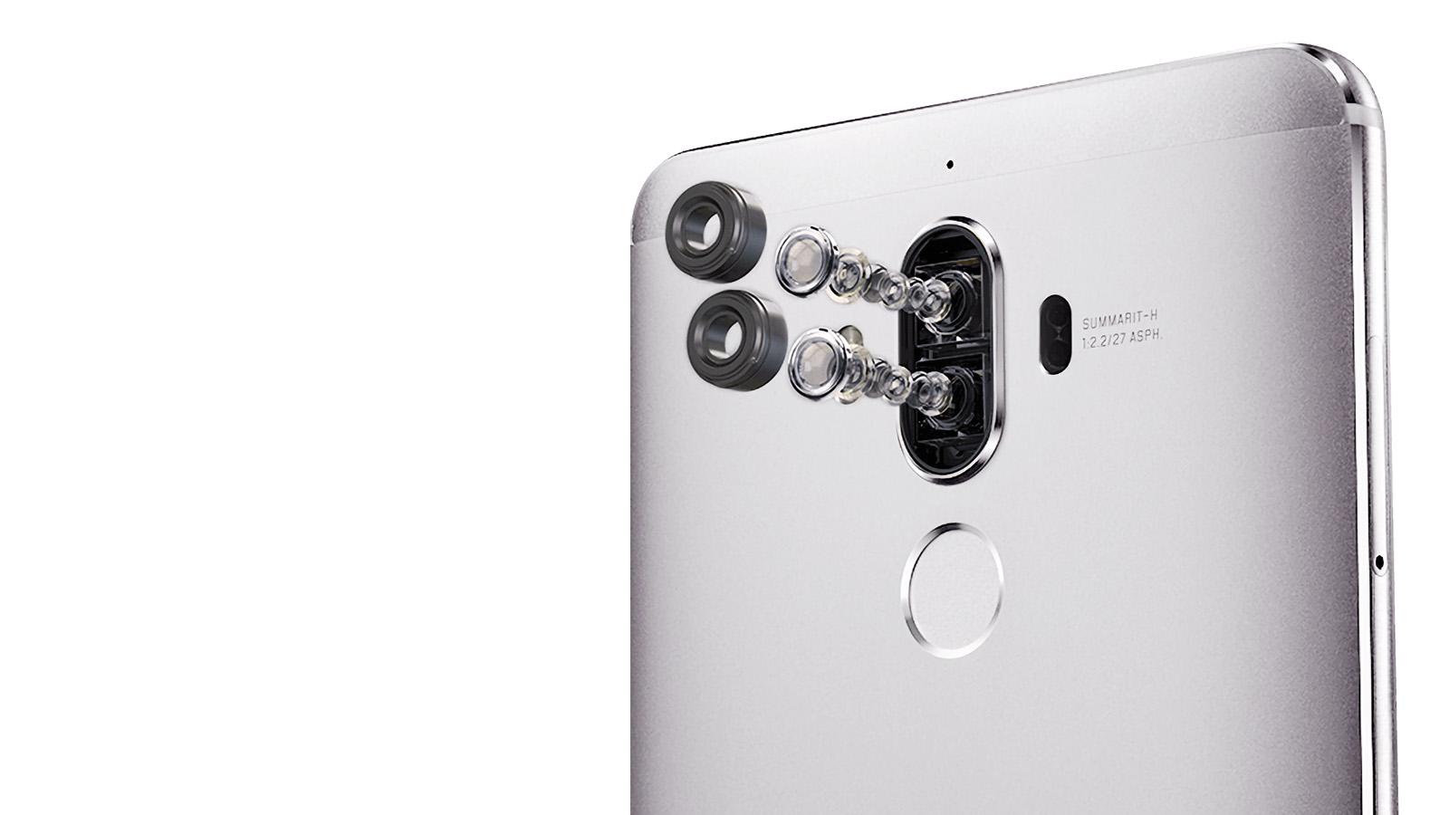 Huawei Mate 9 デュアルカメラ