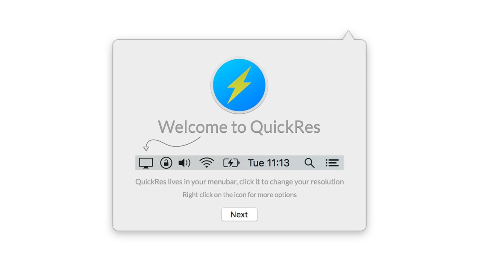QuickRes 導入方法