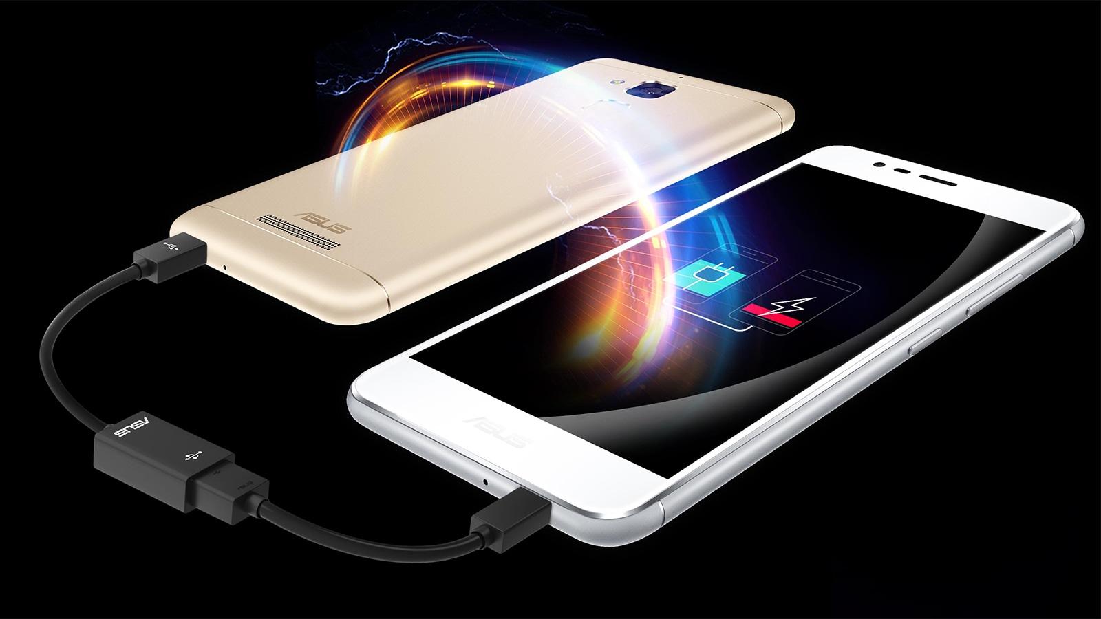 ASUS ZenFone 3 リバースチャージ