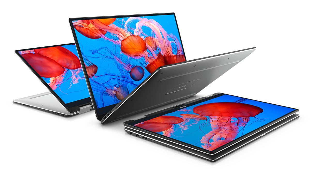 Dell XPS 13 2in1 スタイリッシュなデザイン
