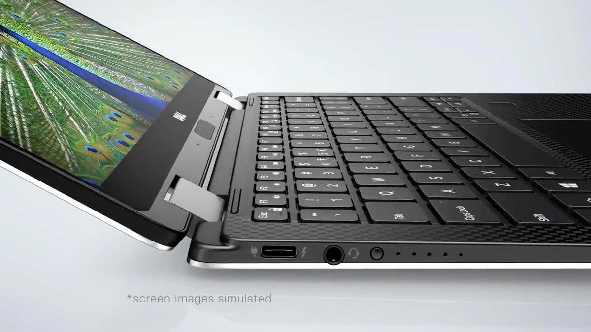 Dell XPS 13 2in1 薄型ボディ