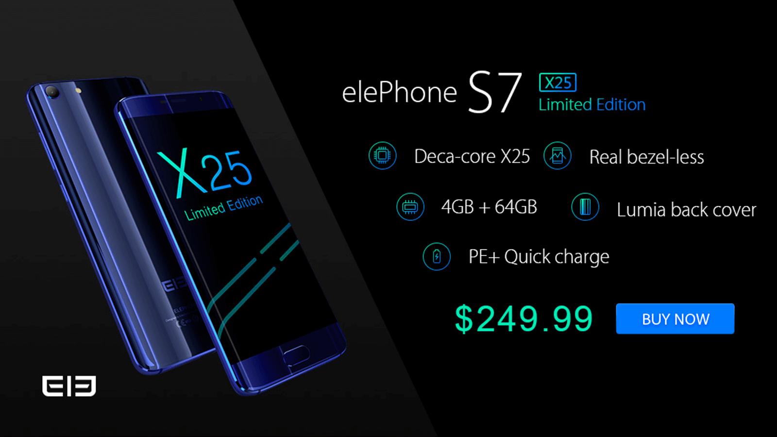Elephone S7 Helio X25版