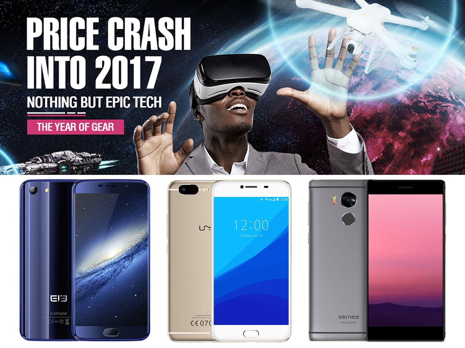 GearBest PRICE CRASH INTO 2017