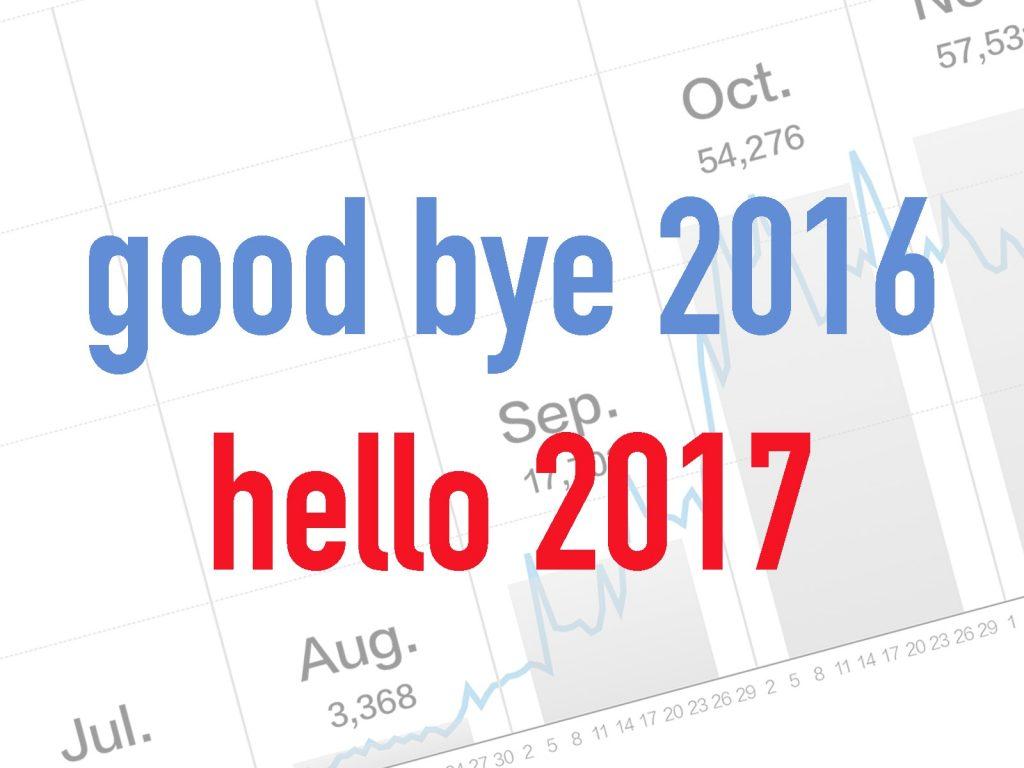 Good bye 2016, Hello 2017