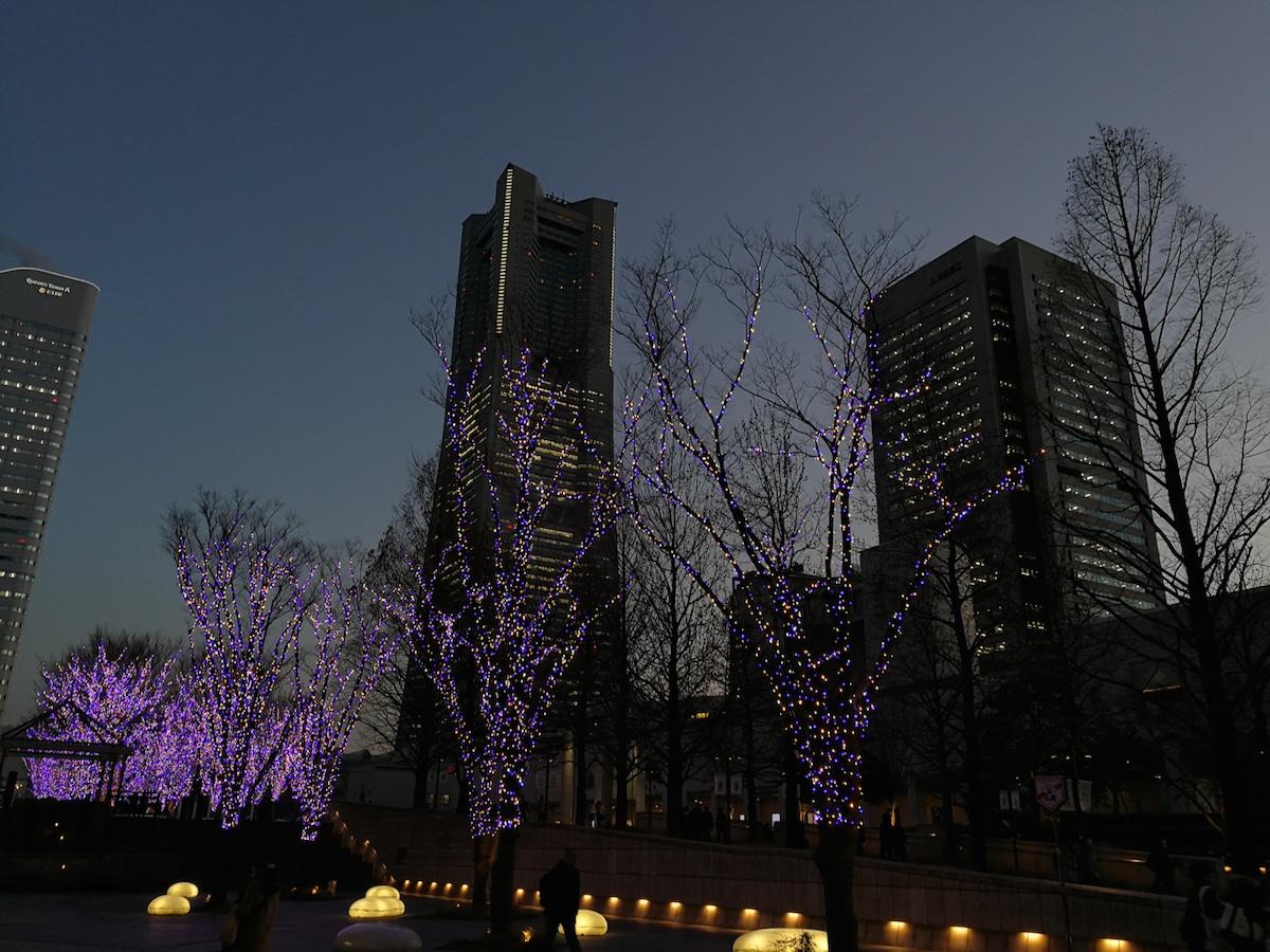 Huawei Mate 9で撮る横浜みなとみらいの夜景