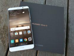 Huawei Mate 9 パッケージと本体