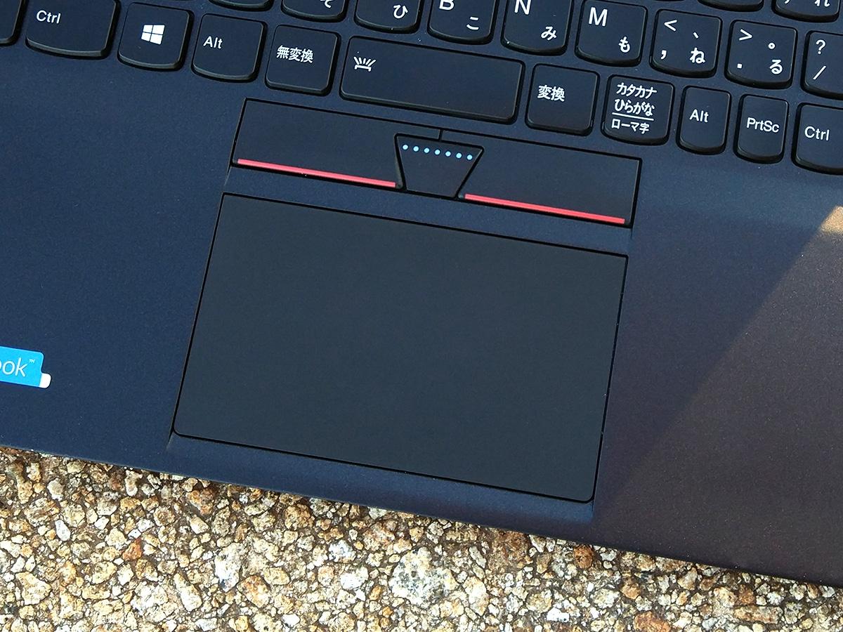Lenovo ThinkPad X1 Carbon トラックパッド