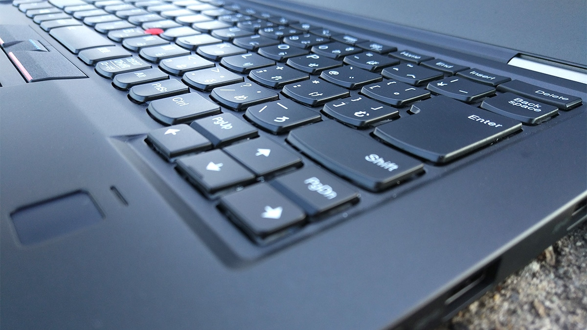 Lenovo ThinkPad X1 Carbon キーストローク