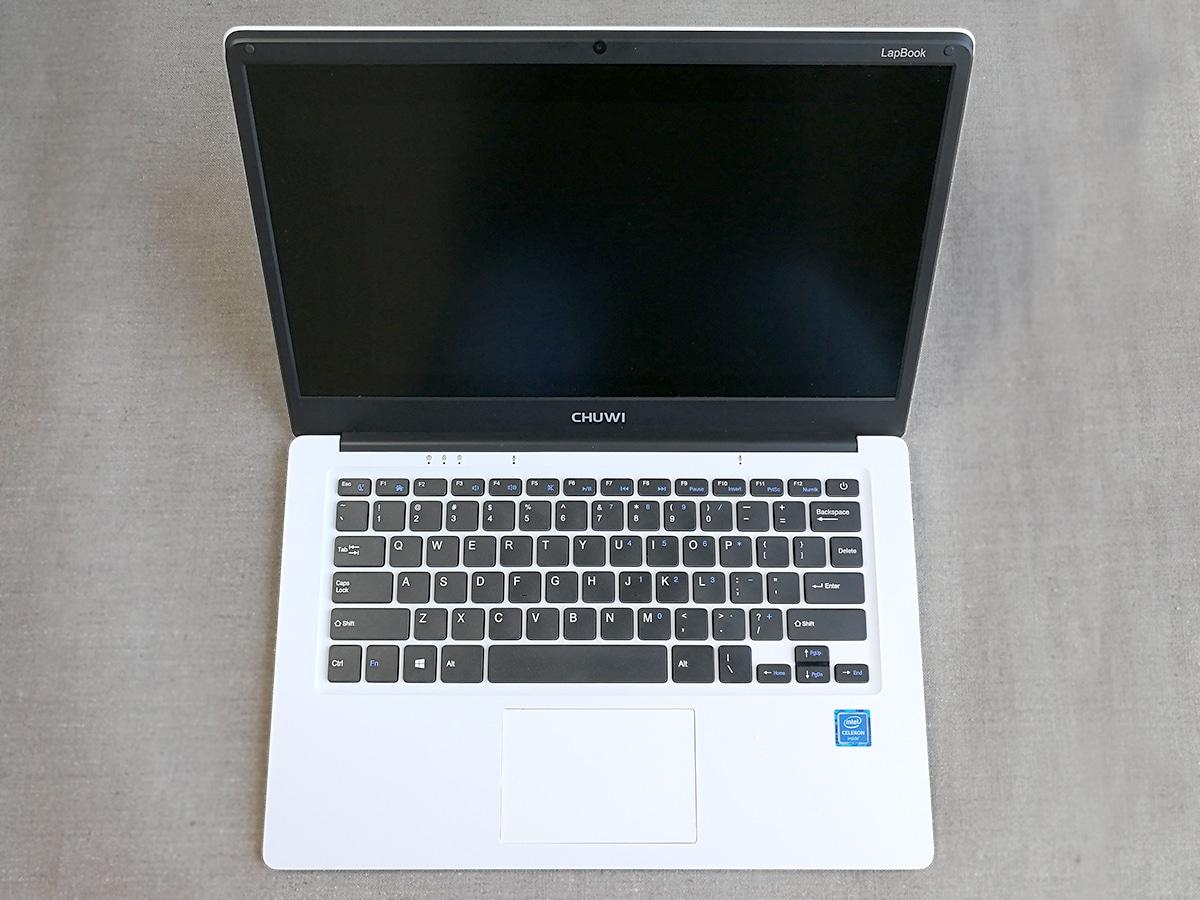 CHUWI LapBook 14.1 ディスプレイ面