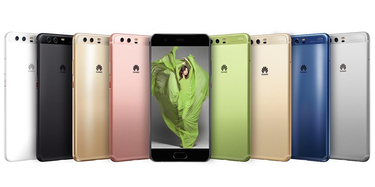 Huawei P10 カラーバリエーション